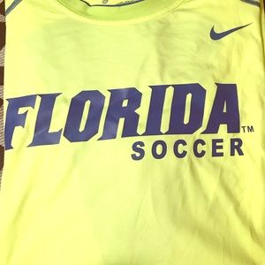 Florida Gators Soccer Dri-Fit Shirt